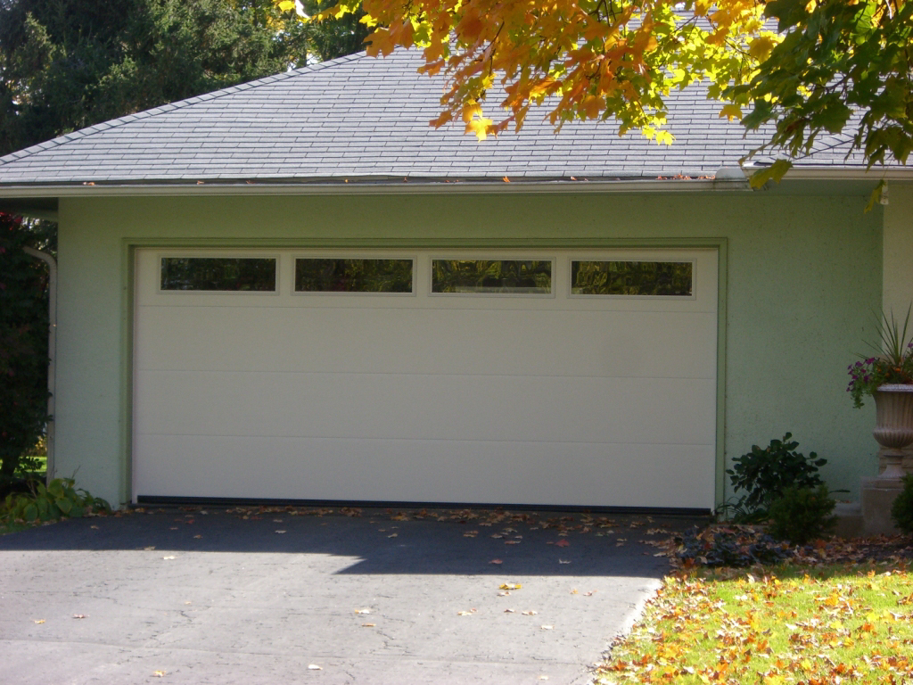 Our garage doors are hurricane rated and made in the U.S.A.