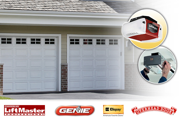 Garage door opener repair on track doors for Garage door repair lehigh acres