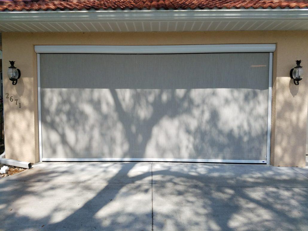 Motorized Screens Motorized Garage Door Screen Motorized